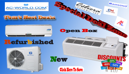 Wall Mounted Ductless Mini Split Air Conditioners