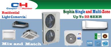 9000 BTU Inverter Ductless Mini Split Air Conditioner with Heat Pump | SEER 17.9 | 110V 60Hz